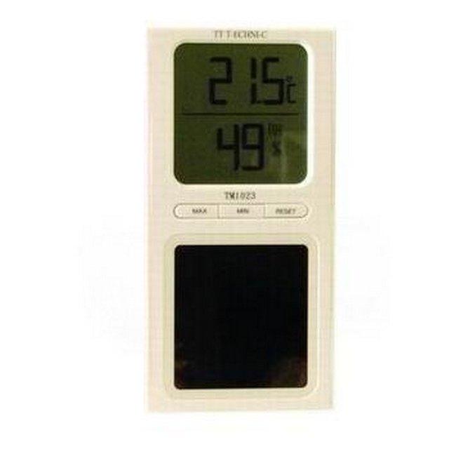 TM1023 Güneş Enerjisi ile Çalışan LCD Termometre