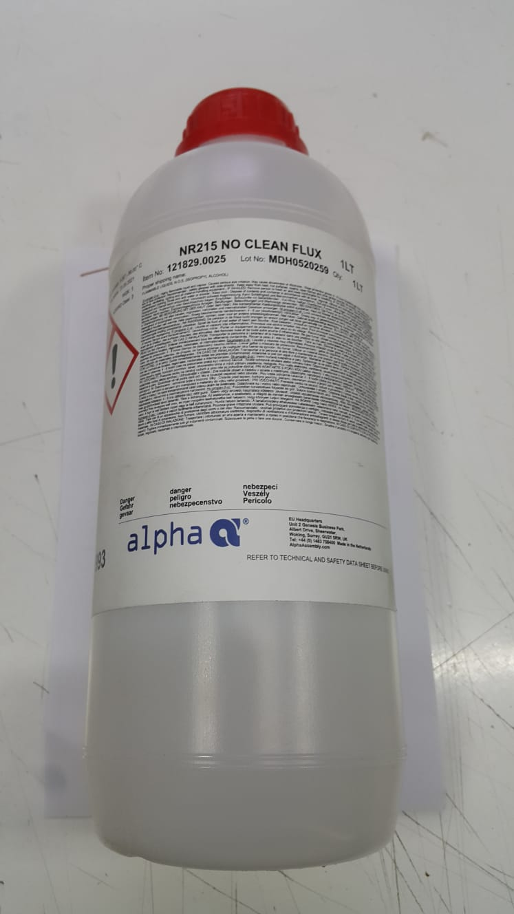 Alpha NR215 No Clean Flux