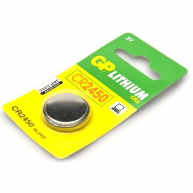 GP CR2450 Pil