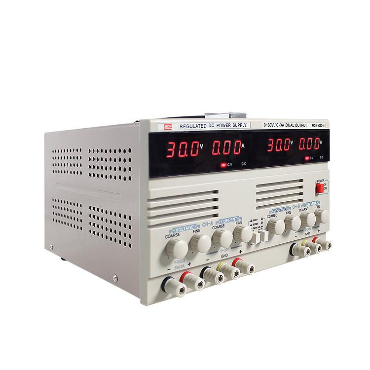 MCH303D-II Çift 30V 3A ayarlı ve sabit güç kaynağı