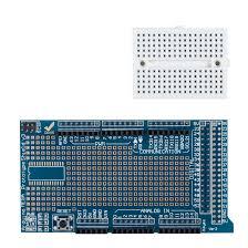 Arduıno Mega Prototip Shieldi V3.0 (Mini Breadboard Dahil)