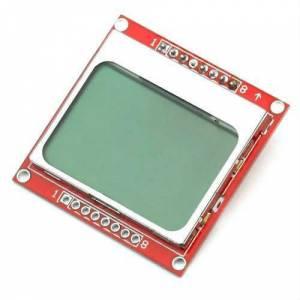 Kırmızı Nokia 5110 84X48 LCD