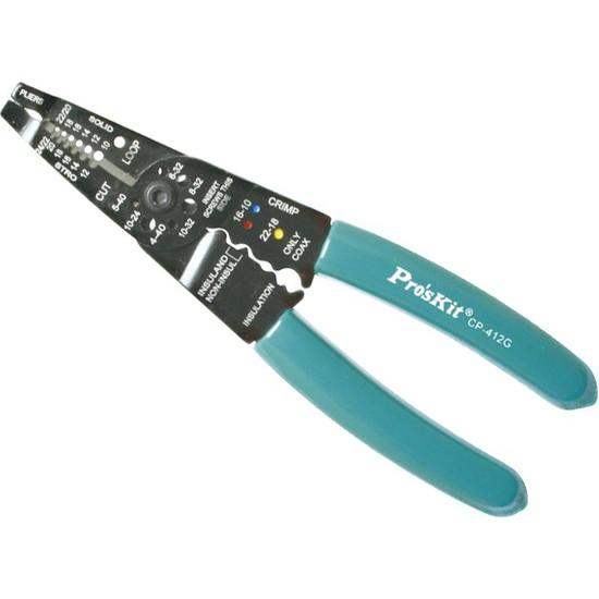 Proskit Kablo Sıyırma Pensesi (CP412G)