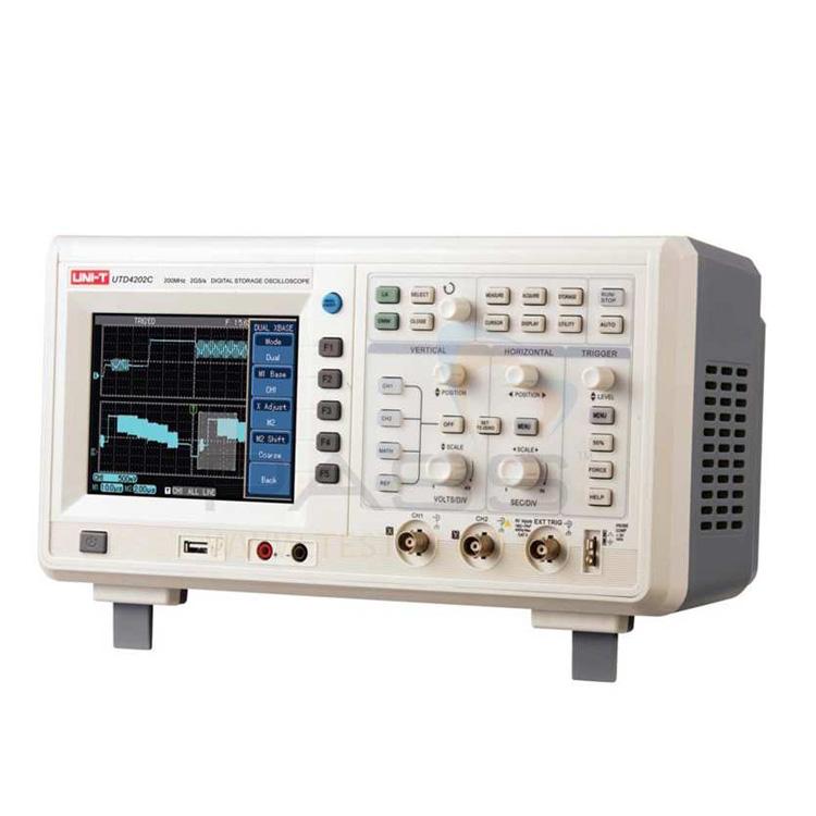 Unit UTD 4202 C 2 Kanallı 200 MHz Dijital Osiloskop