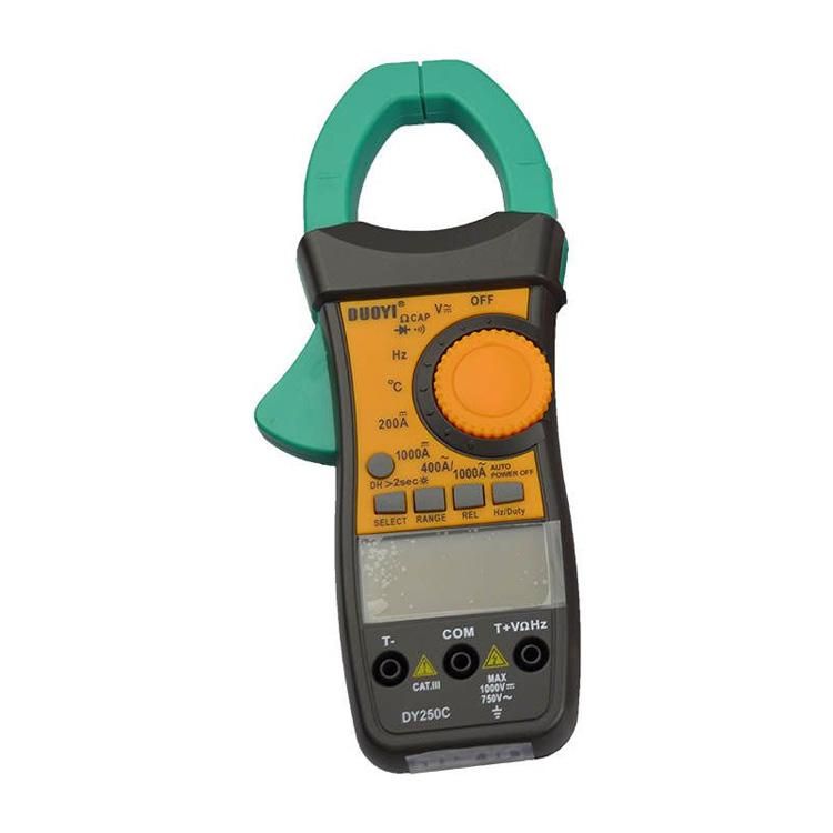 DY250C Pensampermetre ve Multimetre