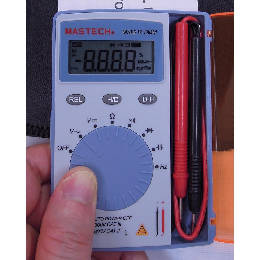 MS8216 DMM Mastech Dijital Cep Ölçü Aleti