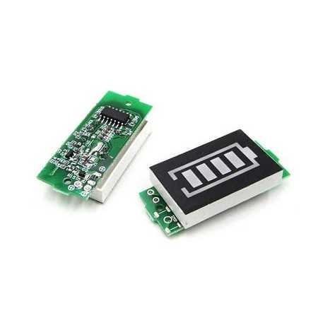 3S Lityum Batarya Kapasite Göstergesi Modülü