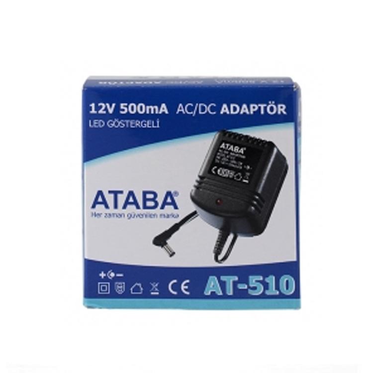 AT-510 12V 500mA AC/DC Adaptör