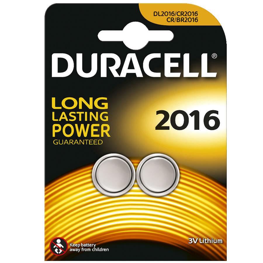 Duracell CR2016 Pil 2li Paket