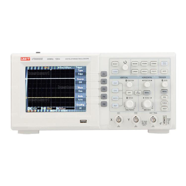 Unit UTD 2202 CE 200 MHz Dijital Osiloskop