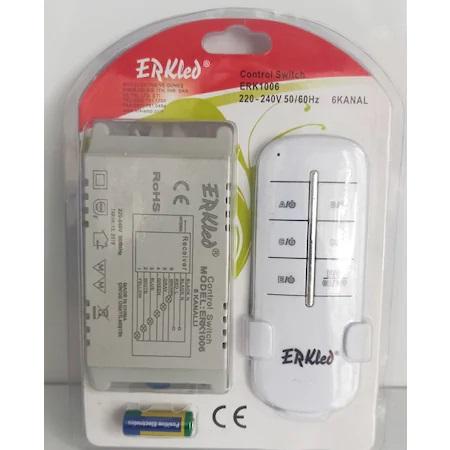 ERK-1006 ERKLED 6 Kanallı Kumanda Modülü