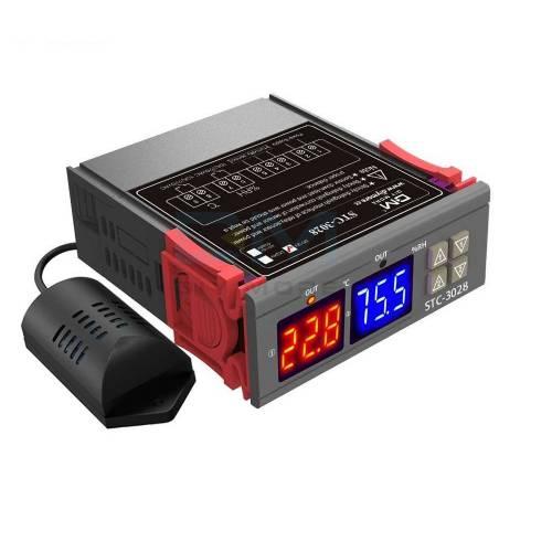 STC 3028 AC 110 220V LCD Ekranlı Nem Sıcaklık Kontrol Modülü
