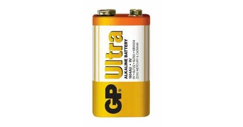 GP 9 Volt Ultra Alkalin Pil