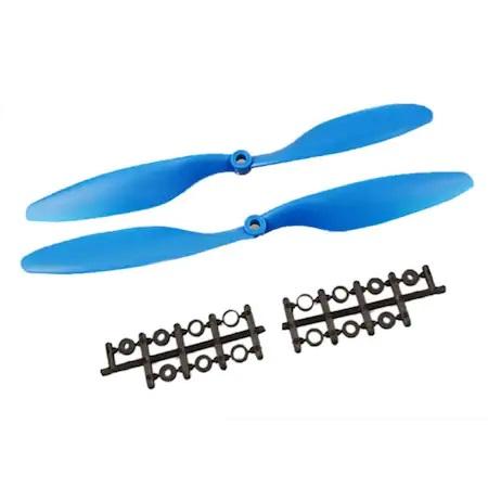 1 Çift 1045 (10 inç 10x4 5) Pervane Seti (Mavi)