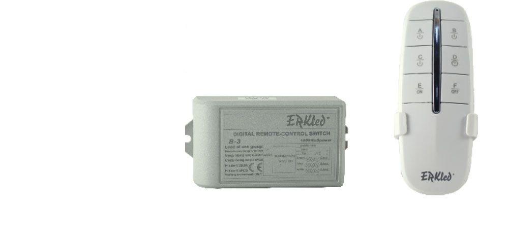 ERK-1005 ERKLED 5 Kanallı Kumanda Modülü