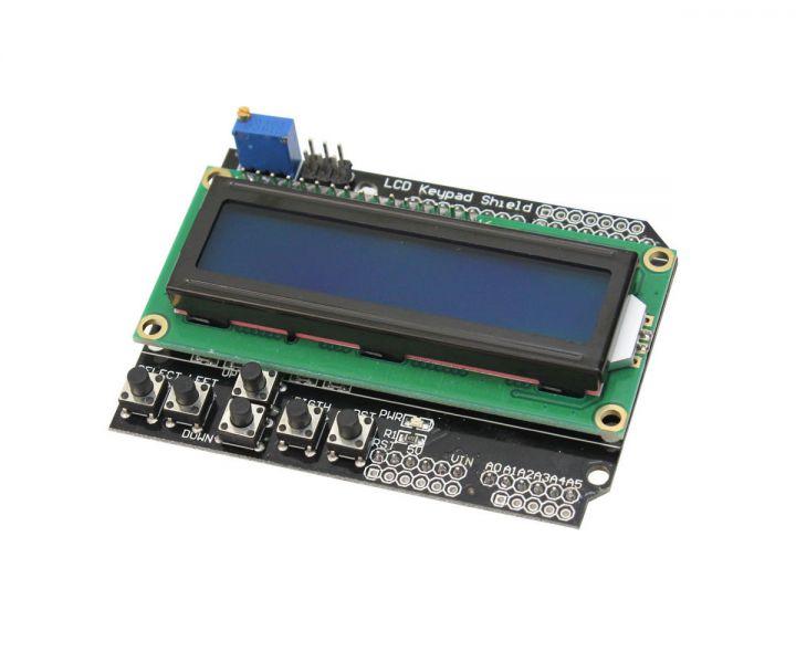 LCD1602 (Tuş Takımlı ve Mavi Arka Işıklı)
