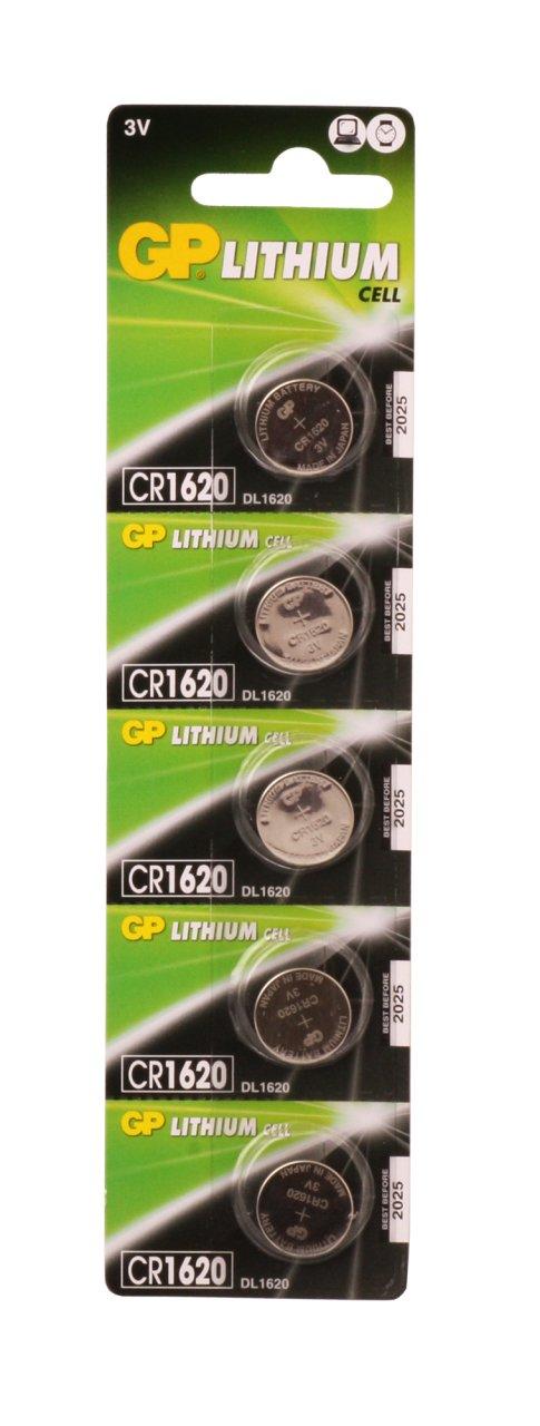 GP CR1620 Pil 5li Paket