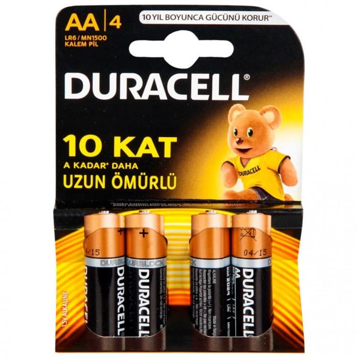 Duracell AA Pil 4 lü