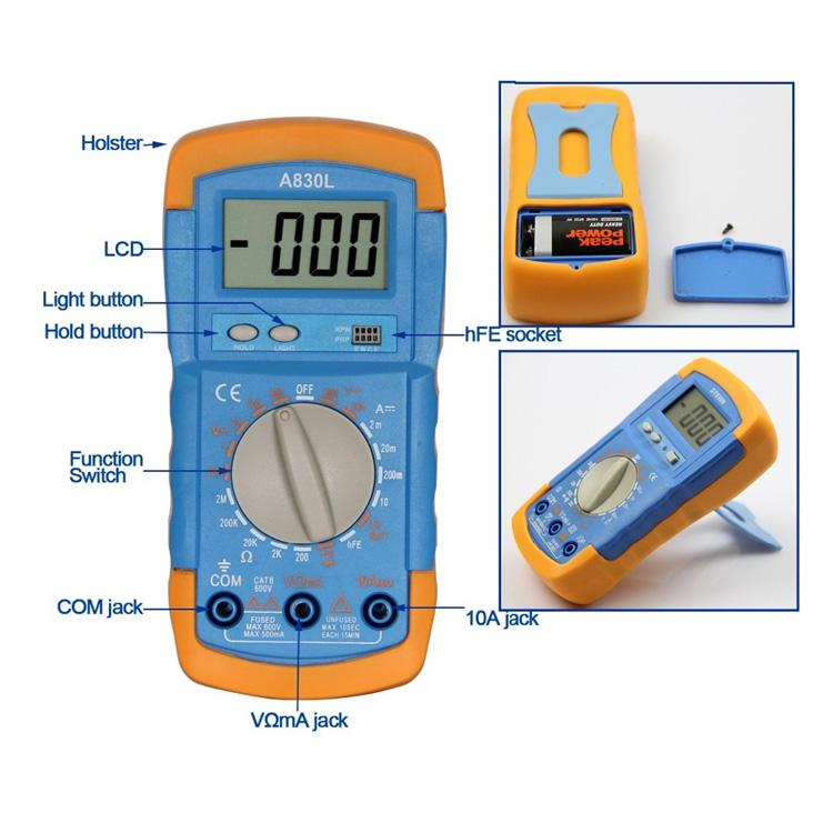 DT710AL dijital multimetre