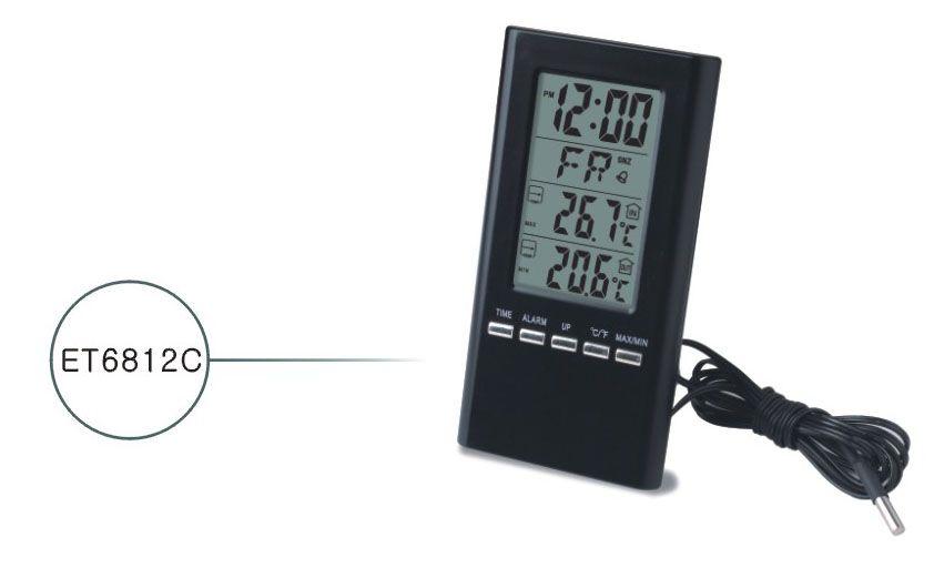ET6812C LCD Termometre