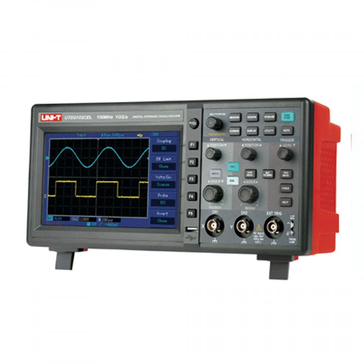Unit UTD 2102CE 100 MHz Dijital Osiloskop