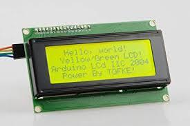 LCD2004 (Yeşil Arka Işıklı)