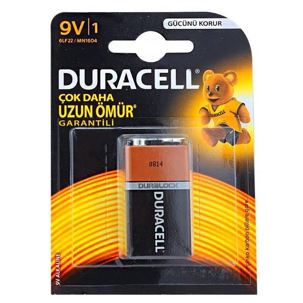 Duracell 9 Volt Alkalin Pil