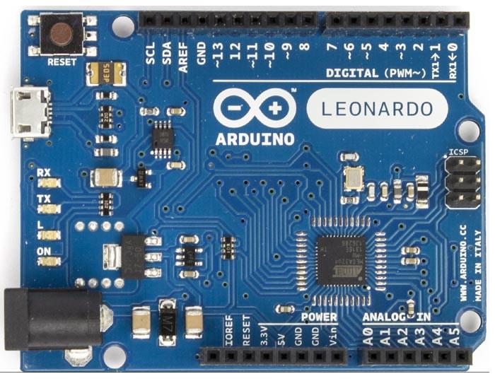 Arduıno Leonardo R3 (Micro Usb Kablosu dahil)