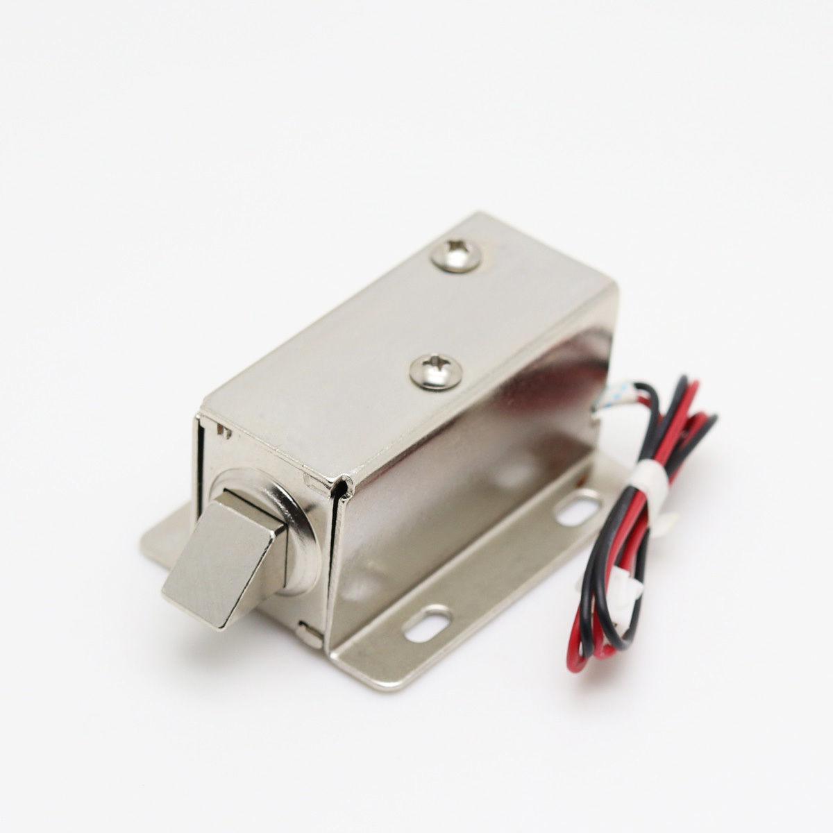 Elektronik Dolap Kapısı Kilidi için 12V DC Solenoid Elektromıknatıs
