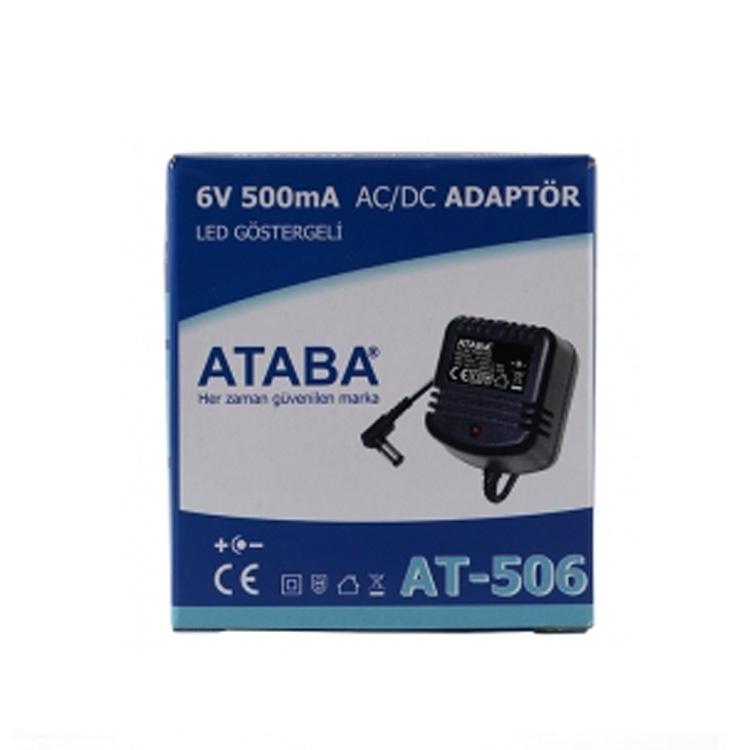 AT-506 6V 500mA AC/DC Adaptör
