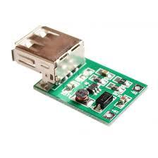 Mini DC-DC 0.9V-5V TO 5V 600MA Yükseltici USB Şarj Modülü