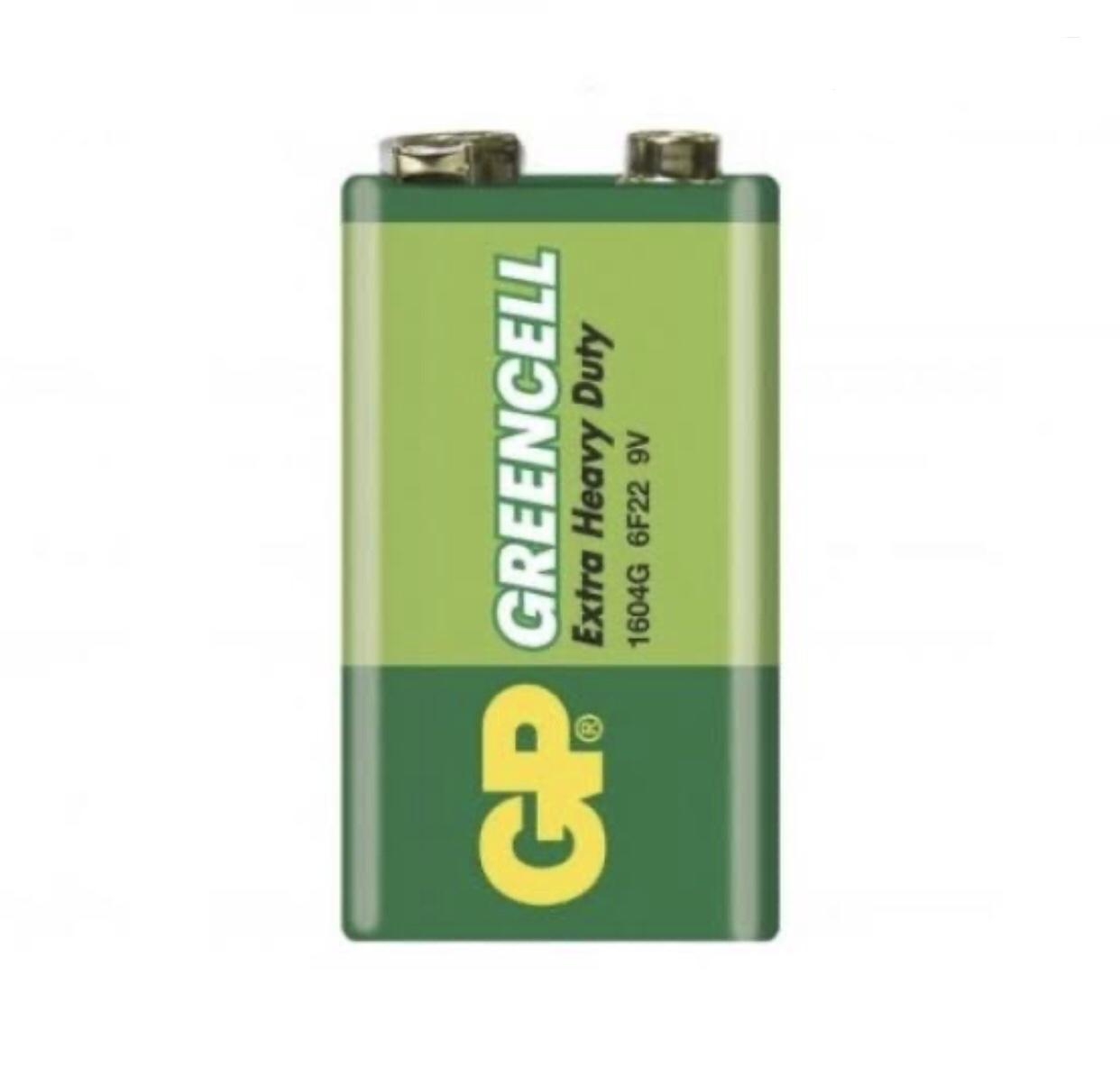 GP Greencell 9 Volt Pil