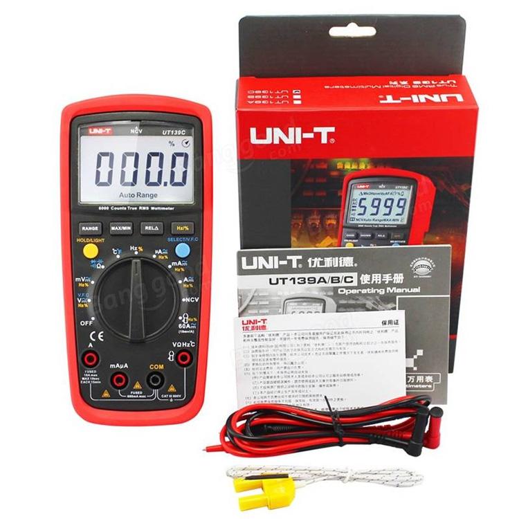 UT139C Dijital Multimetre