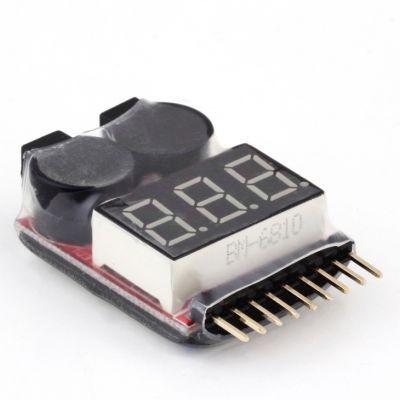 1 8S Lipo Seviye Ölçer ve Alarm Modülü