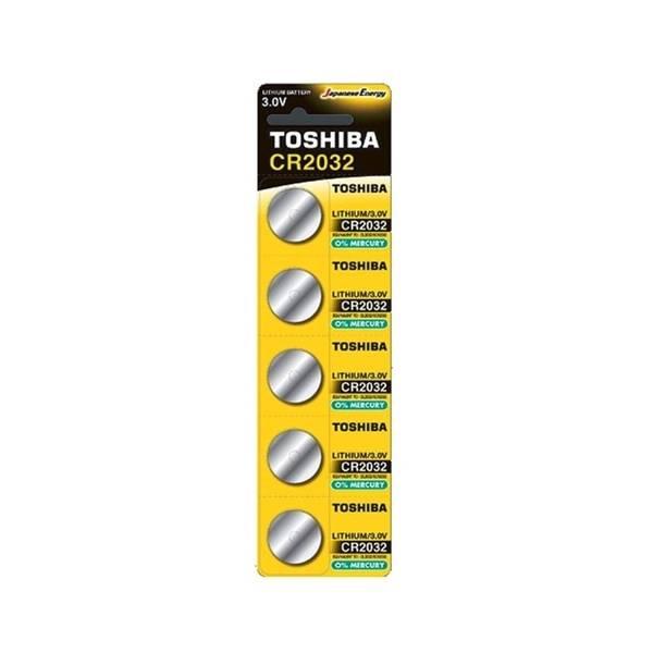 Toshiba CR2032 Pil 5li Paket