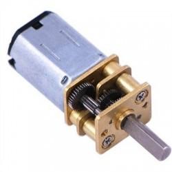 N20 12V DC 500 RPM 1:50 Mikro Metal redüktörlü Motor
