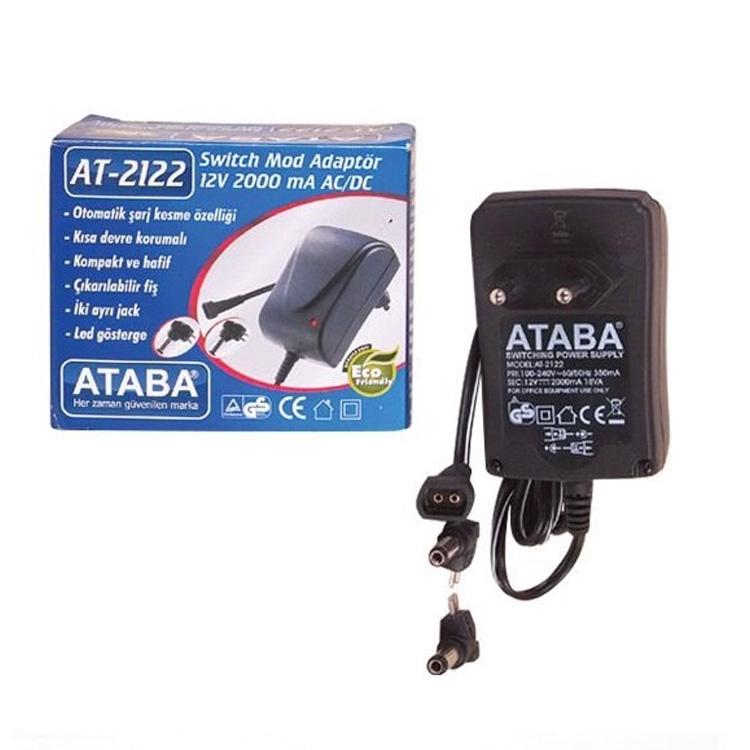 AT-2122 12V 2000mA AC/DC Switch Mode Adaptör
