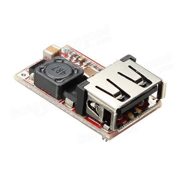6 24V dan 5V 3A a Yüzde 97 5 Verimlilik USB DC DC Gerilim Azaltıcı Modülü
