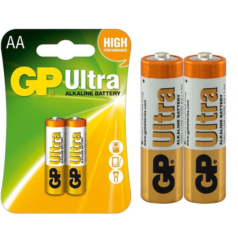 GP AA Alkalin Pil 2 li