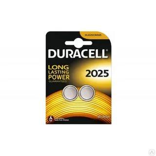 Duracell CR2025 Pil 2li Paket